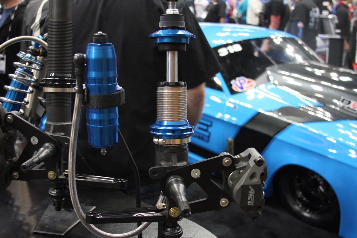 PRI 2016: AFCO Drops New Spindle Mount Struts On The Drag Racing World
