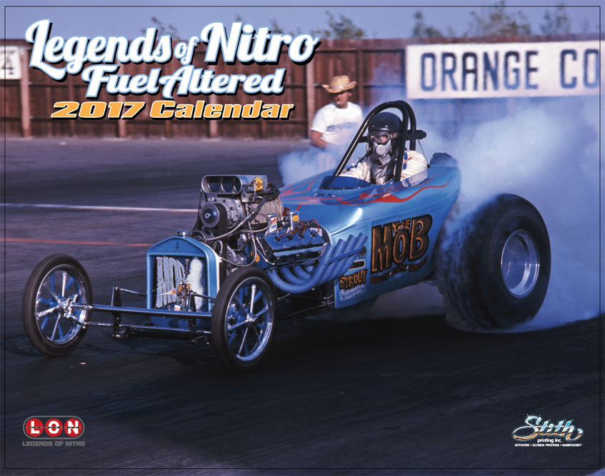 Brighten Up Your Man Cave With One Of These 'Legends Of Nitro' 2017 Calendars!