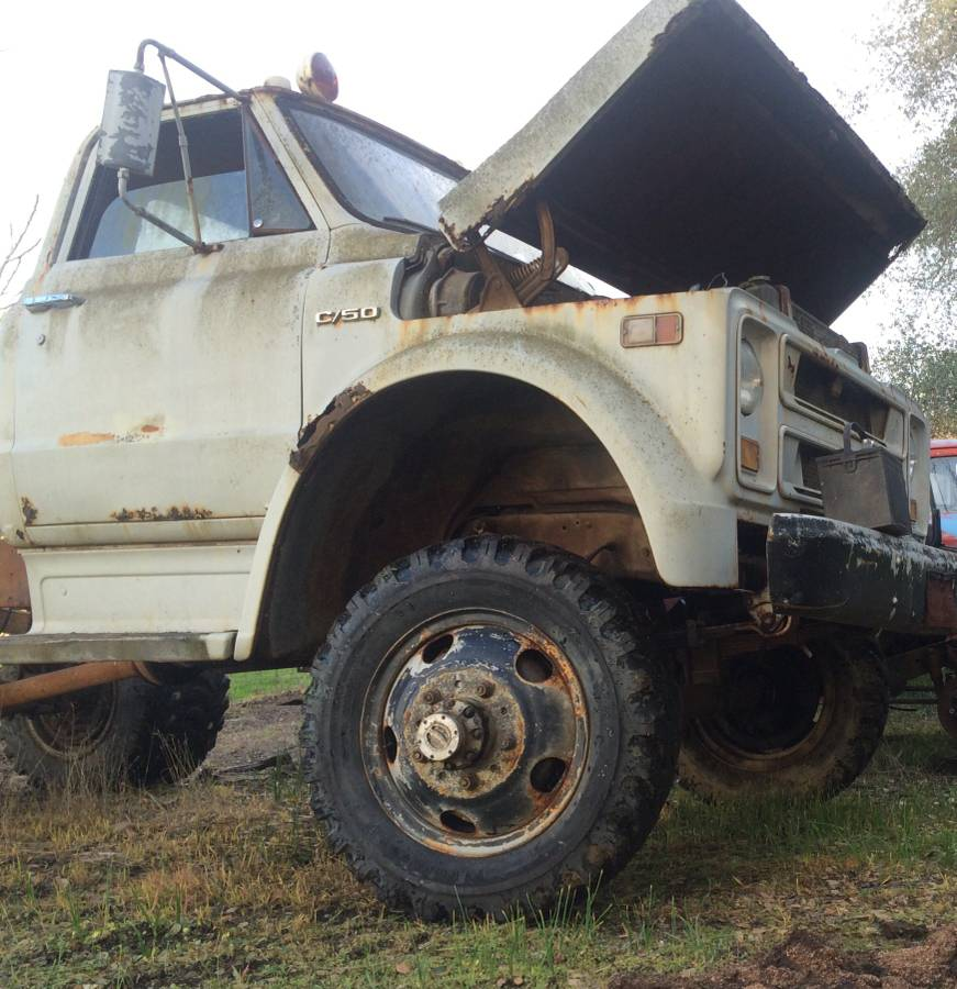 BangShift com This 1967 C50 NAPCO 4x4 Is Rough But Awesome