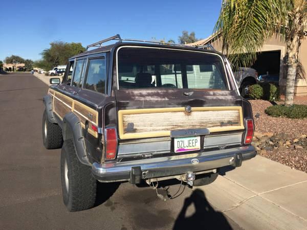 BangShift com The Dream Winter Wagon: A 1991 Jeep Grand Wagoneer