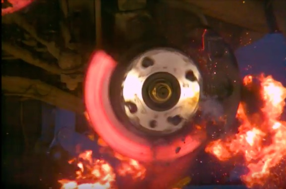 This Video Of A Brake Rotor Exploding Is Awesome To Watch – Heat Is A Killer!