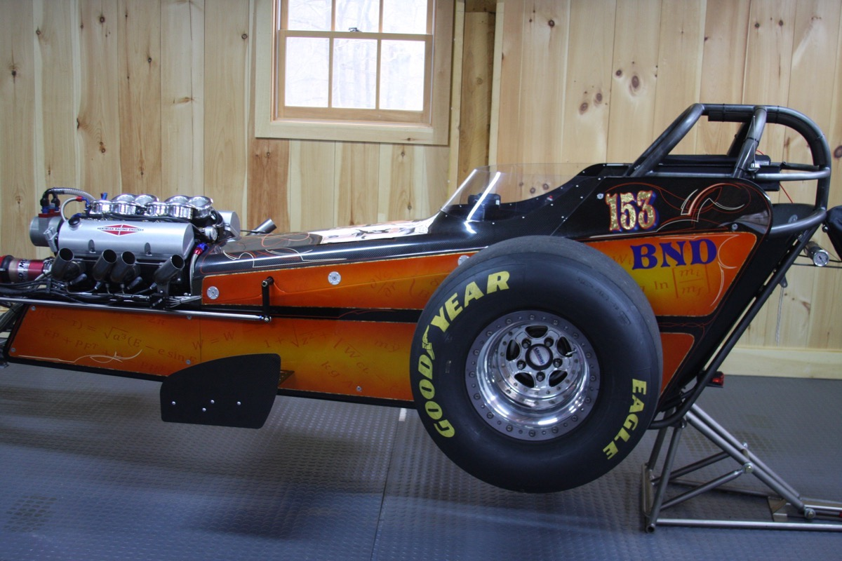 Deceptive Nostalgia: We Dissect A Modern B/Nostalgia Dragster To See How Advanced It Really Is