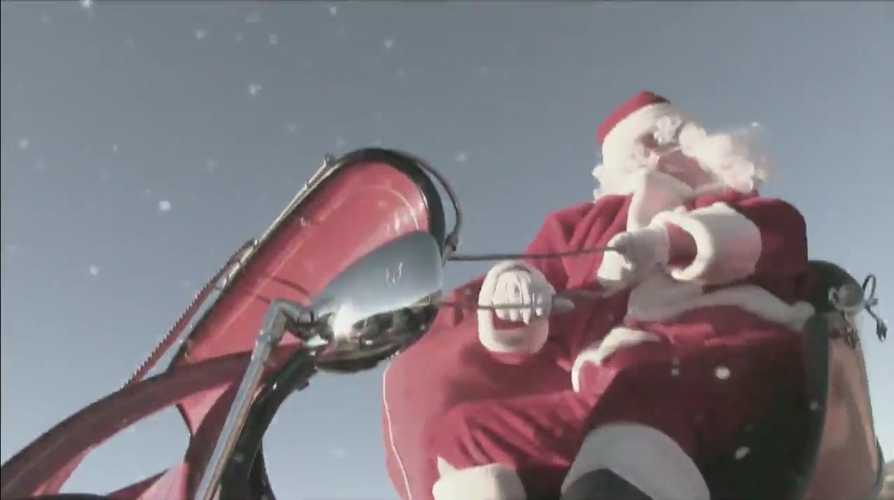 The Racepak Christmas 2016 Video Is Out, And Proves Even Santa Can't Do Without The Data