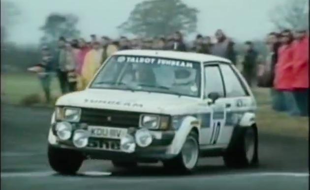Historical Footage: Henri Toivonen Running The RAC Rally In A Talbot Sunbeam