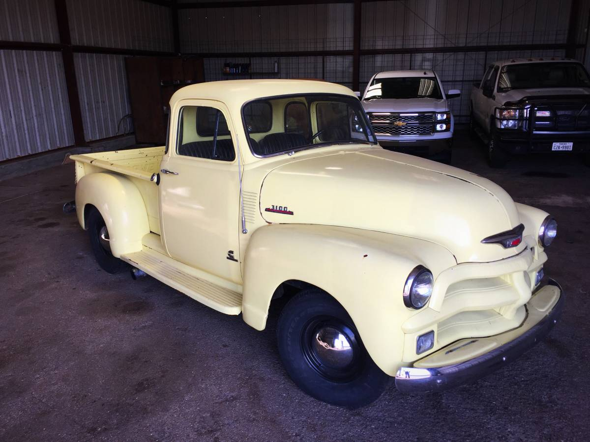 This 1954 Chevrolet 3100 Pickup Has A Cummins 4bt Swap Chevy Pick Up Truck For Sale
