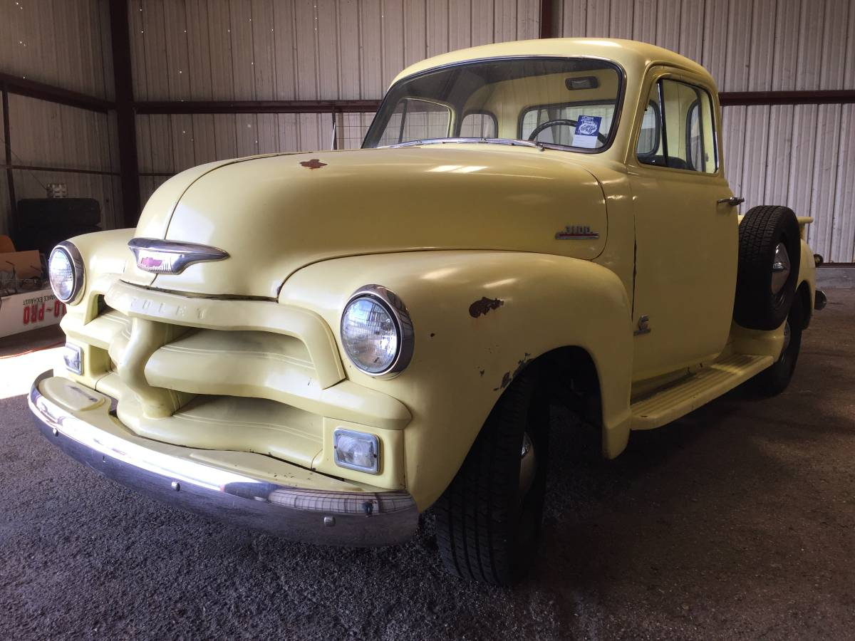 This 1954 Chevrolet 3100 Pickup Has A Cummins 4bt Swap Chevy Truck 3