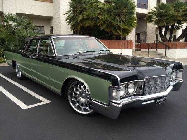 Bangshift Com This Hot Rod Lincoln Continental Is A Head Turner You