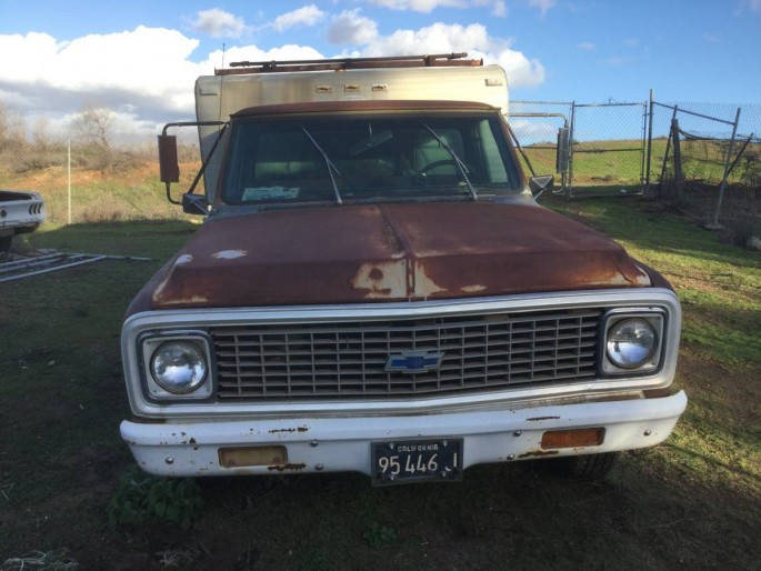 1971 Chevrolet pickup C10 Chevy Camper Special 350 4 speed 1 owner 1