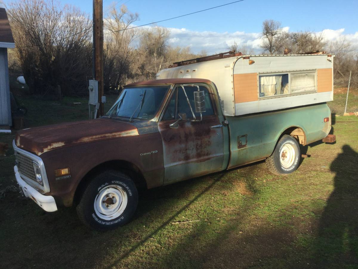 This 1971 Chevrolet C10 Camper Special Is A One Owner Truck With Great Patina