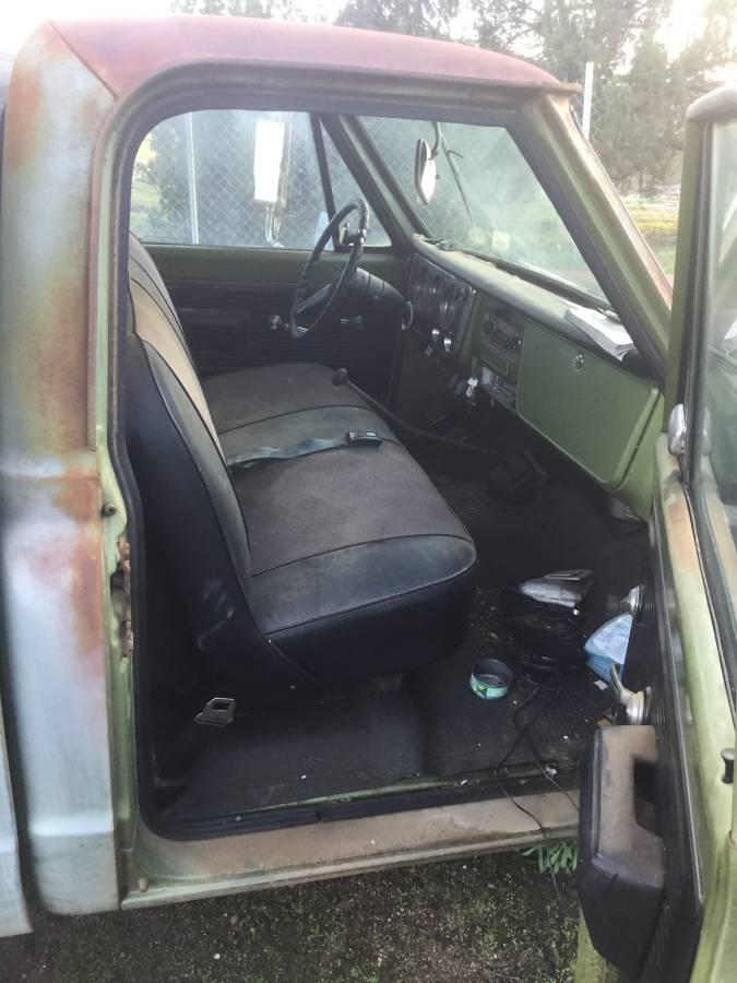 bangshiftcom   chevrolet  camper special    owner truck  great patina
