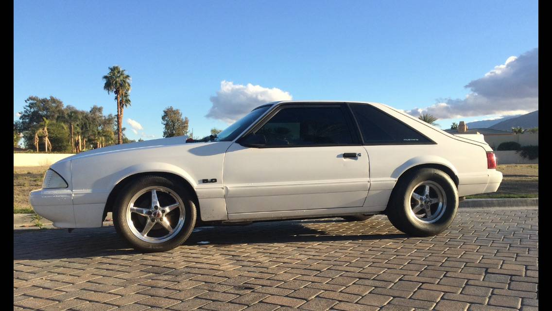 this fox body mustang sleeper is a roll cage. Black Bedroom Furniture Sets. Home Design Ideas