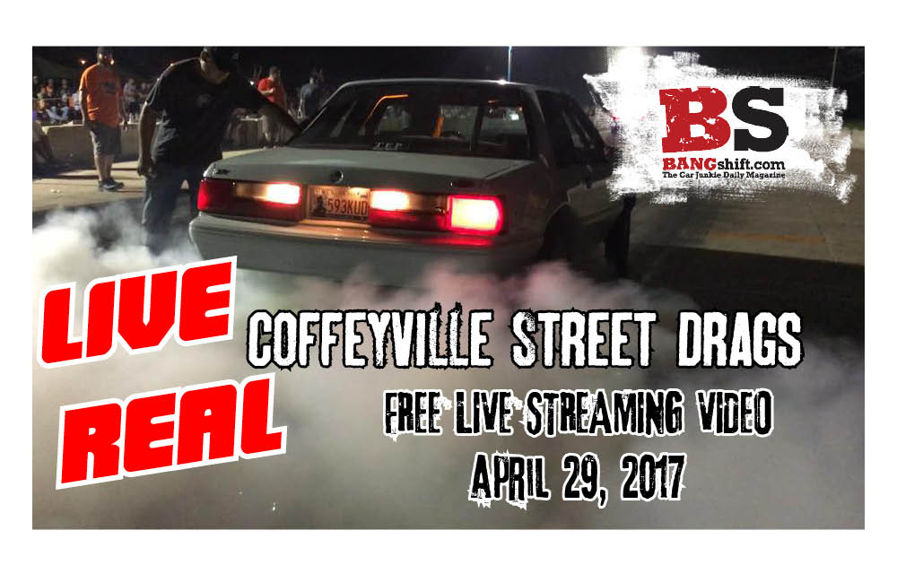 Coffeyville Street Drags Postponed Until May 13th, Due To Weather