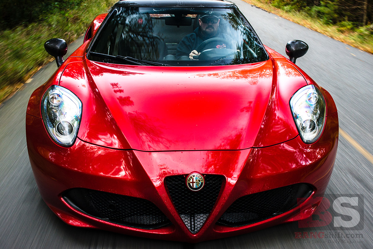 Alfa Romeo 4C Spyder: A Loud, Lightweight, No Frills Car That Answers The Great What If?