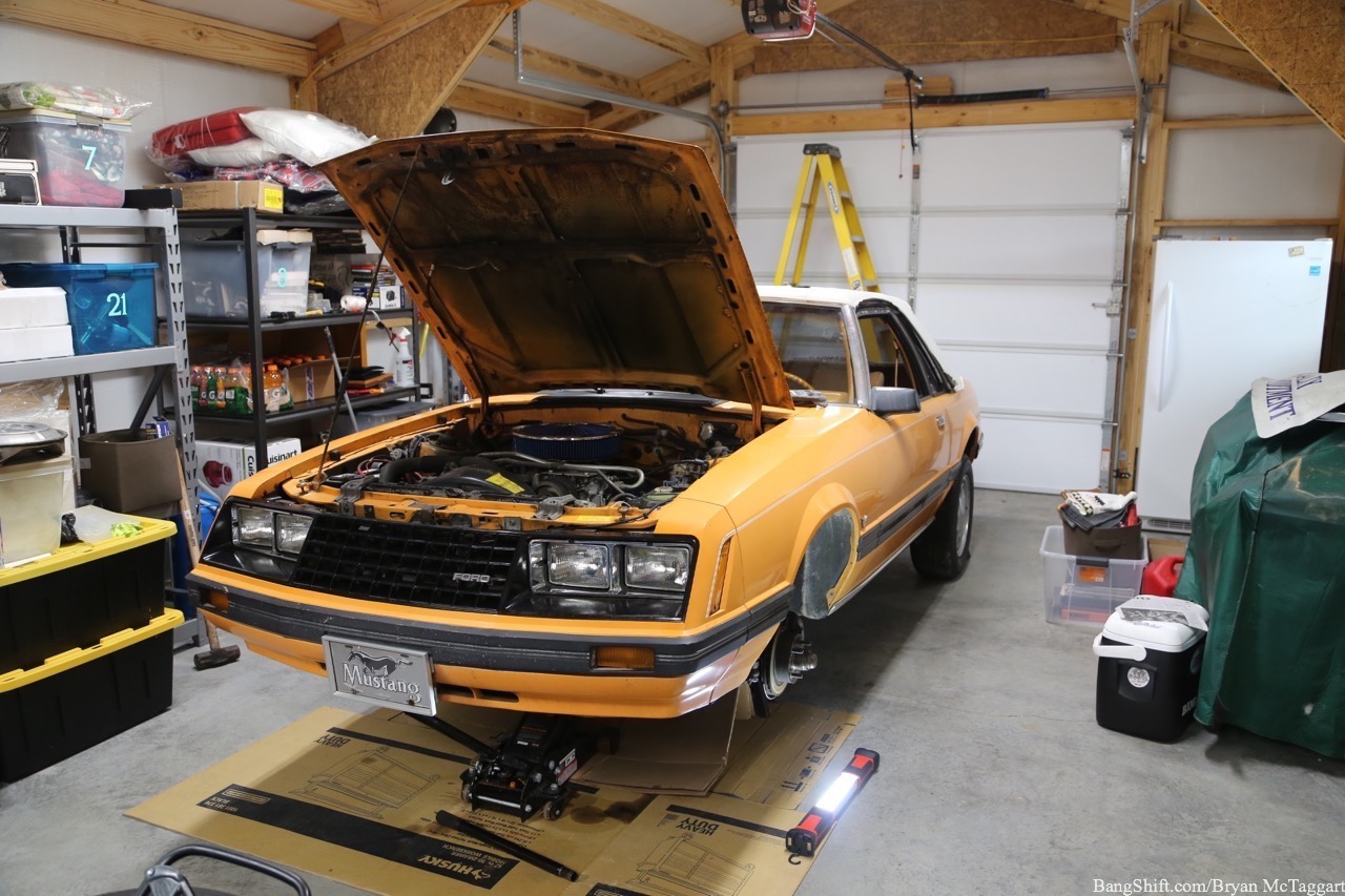 "Project ""Great Pumpkin"" Mustang: Step One Is Getting Our Forlorn Fox Back On The Road"