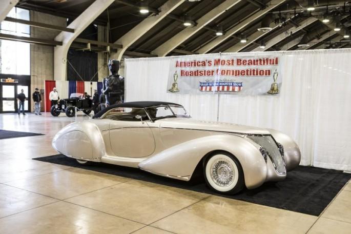 Glen McElroy 1937 Ford Roadster Phantom