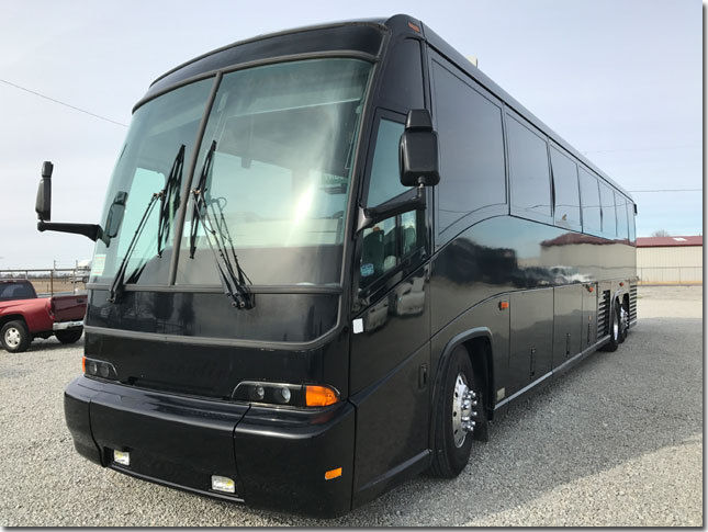 "Money No Object: This 1999 MCI ""Executive Coach"" Would Be The Ultimate BangShift Mobile Command Center!"