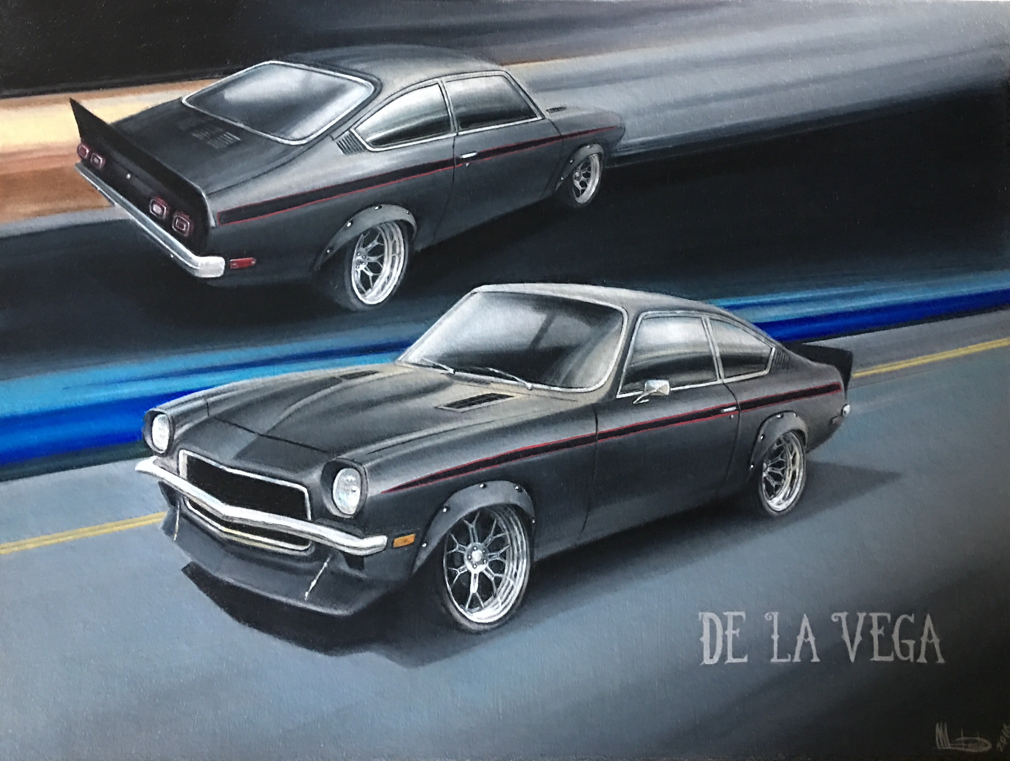Introducing Project De La Vega: A Chevy Performance LTG Powered Vega Rocket!