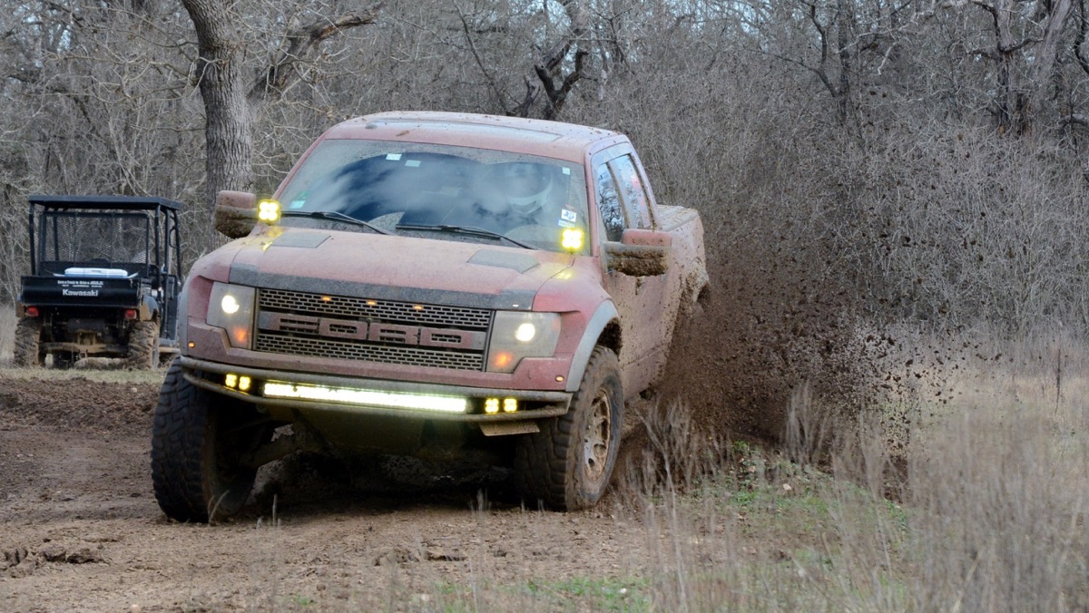Texas Raptor Run Action Part 2 – More Fun Rippin' It Up