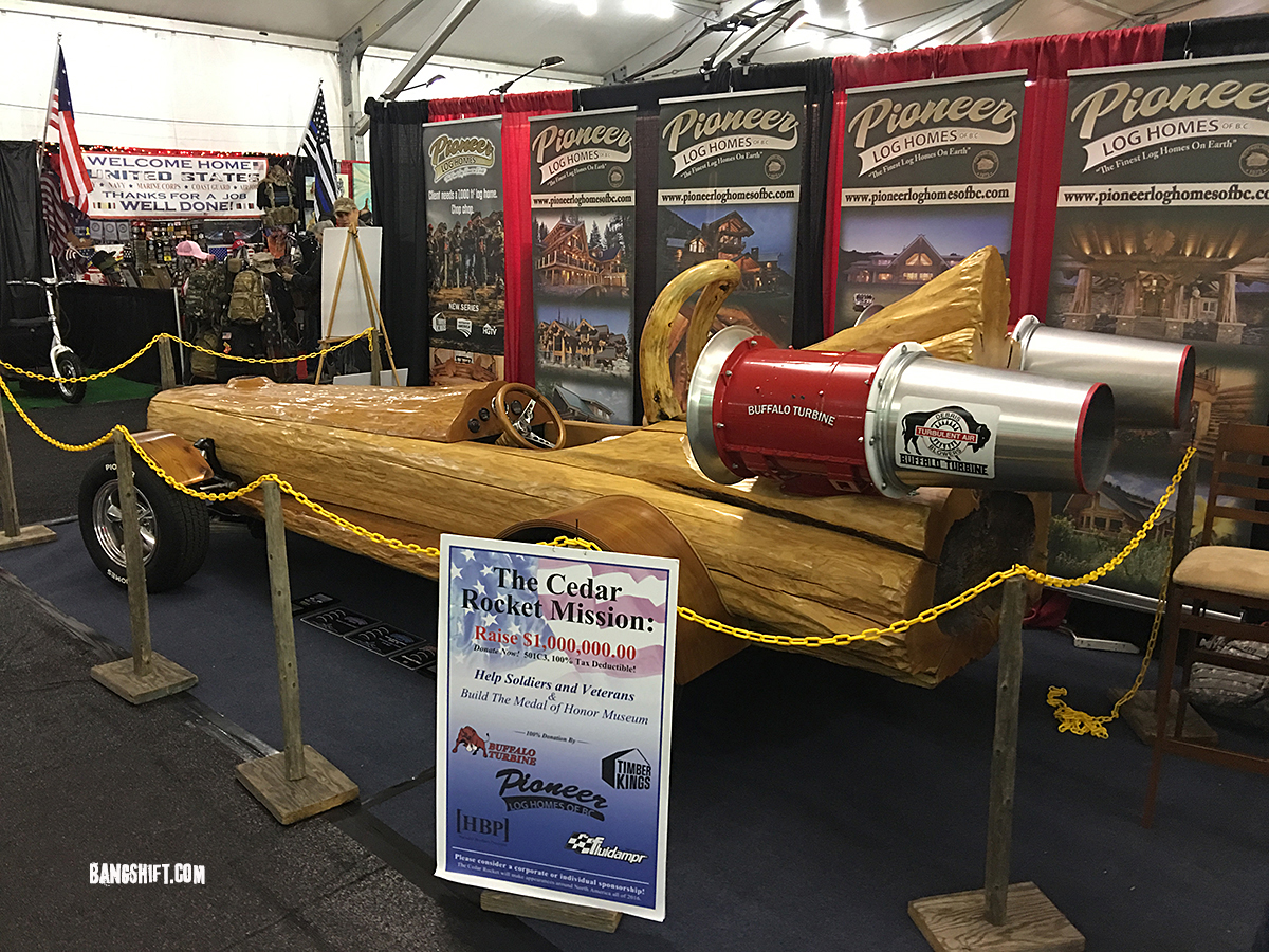 The Fastest Log Vehicle Ever Is Turbine Powered Which Seems Odd And Dangerous