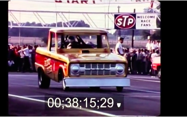 Amazing Video: 1966 AHRA Finals In Texas – Full Color, Sound, Etc – Bronco Buster, Canuck, Amazing Cars