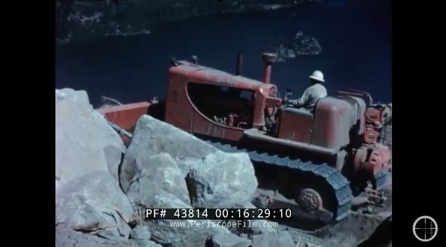 Vintage Tractor Porn: This 1950s Allis-Chalmers Video About Crawler Tractors Rules!