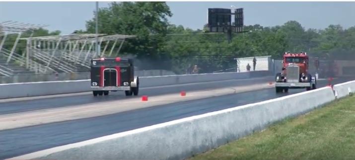 Diesel Zen Video: Big Rig Drag Racing At Tulsa Is Torquey Fun