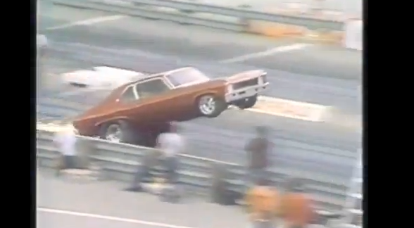 Old School Wheelstander Video: Joe Douthit Performing In His Bitchin' 1969 Nova
