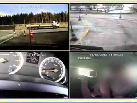 Watch a Polish Woman Fail Her Driving Test in Truly Spectacular Fashion