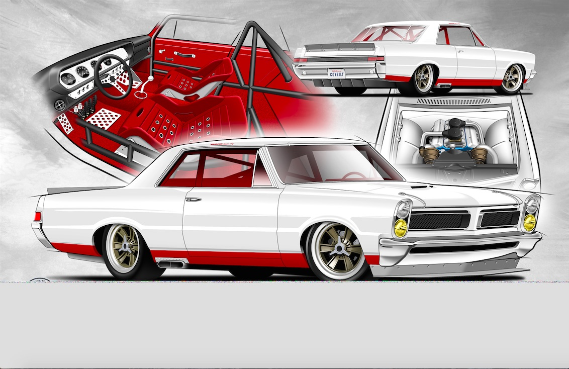 Sketch Of A Build: This 1965 LeMans Looks Like It May Be One Of The Coolest True Pontiacs Ever