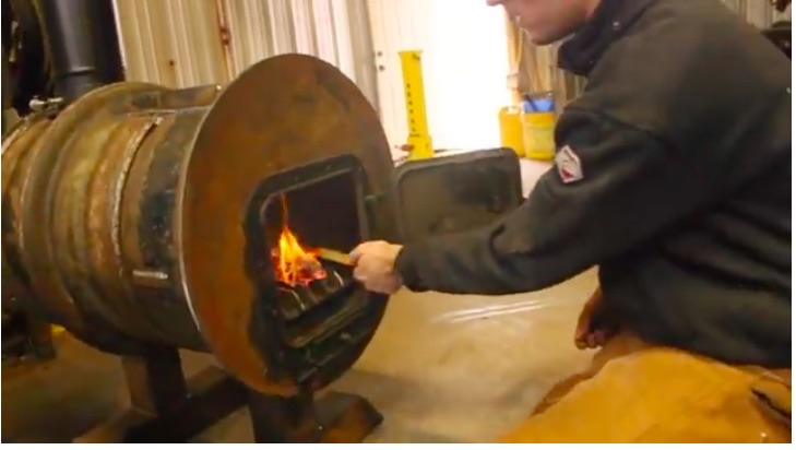 Cool Winter Welding Project: Truck Rim Wood Stove For The Shop