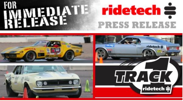 RideTech announces Track 1 Program For Racers – Hardcore Parts, Hardcore Performance