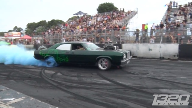 Just Doing My Duty: Ripping Burnouts In A Military-Owned Aussie Ford LTD!