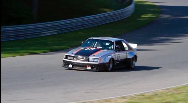 Pace Car Indeed: Ride Along In This 1979 Ford Mustang IMSA Racer As It Rolls Around Mont Tremblant!