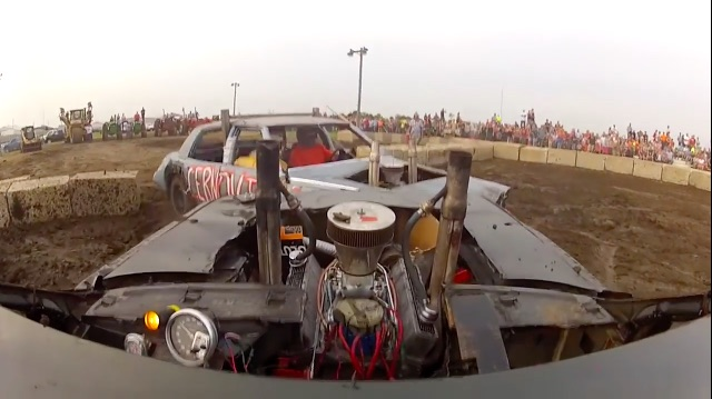 Morning Symphony: The Howl Of The Angry Demolition Derby Car
