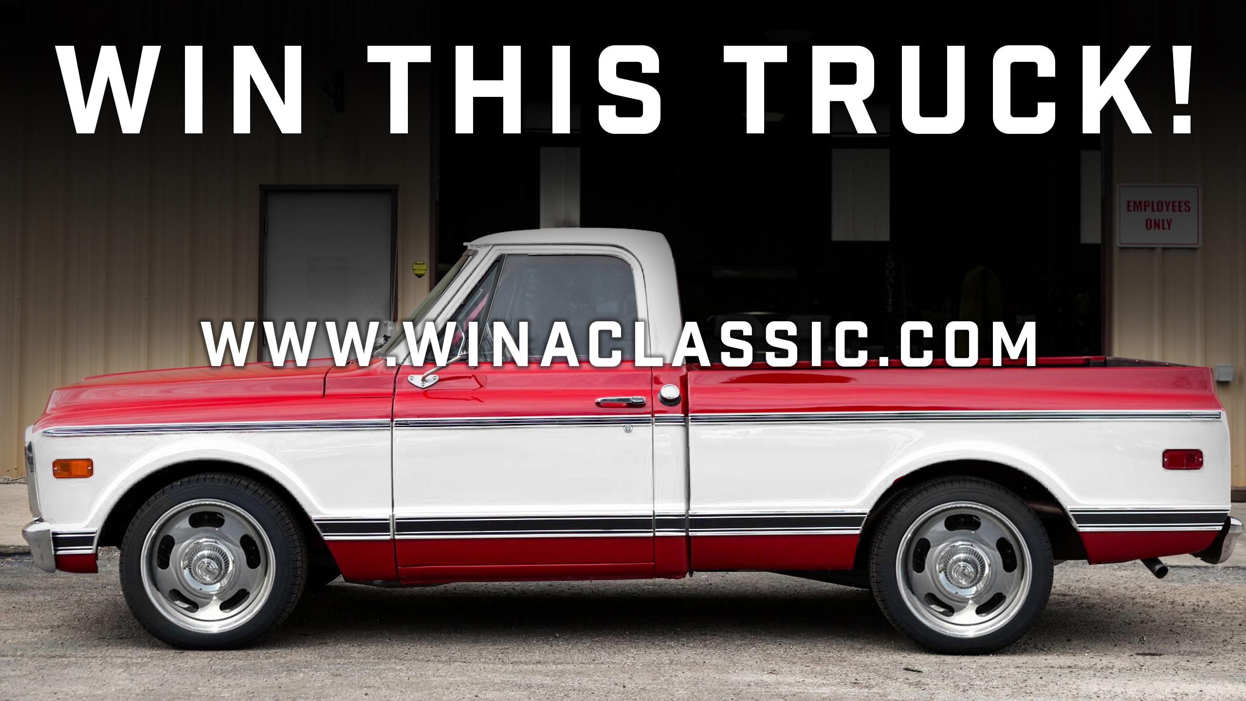 Wanna Win A Truck? Classic Car Liquidators Has A 1971 C10 Up For Grabs