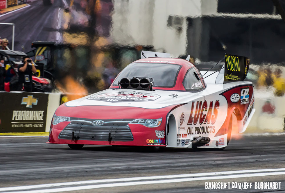 Worsham Parking His Family Funny Car – Will Return At Sonoma NHRA Mello Yello Event!