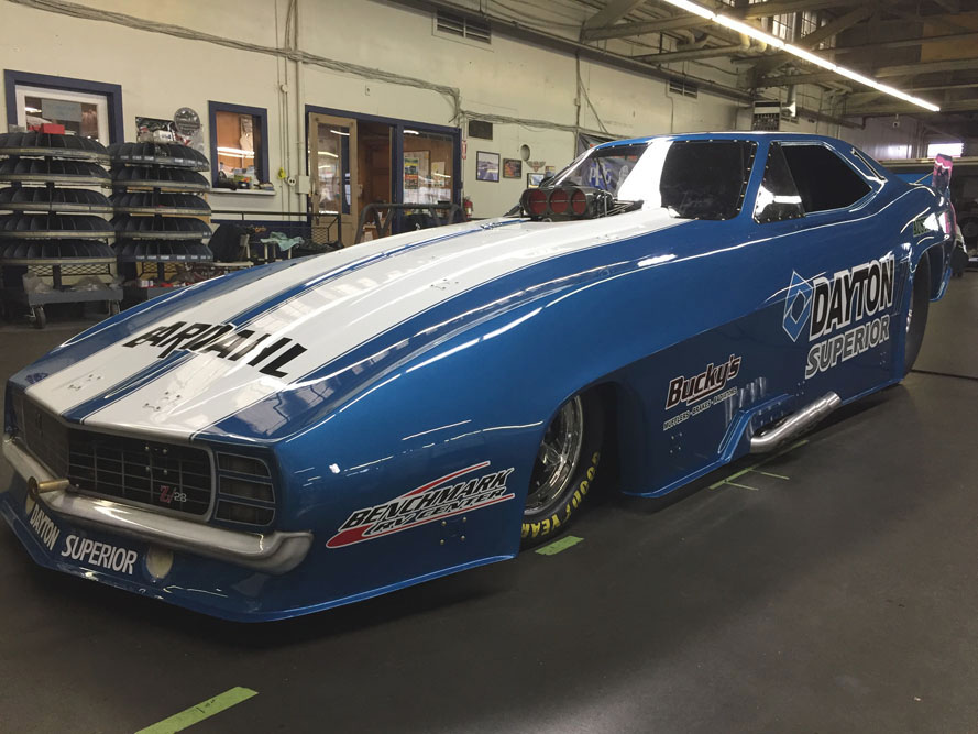 NHRA Heritage Series Champ Krabill Debuts New Car & Sponsorship For Good Vibrations March Meet
