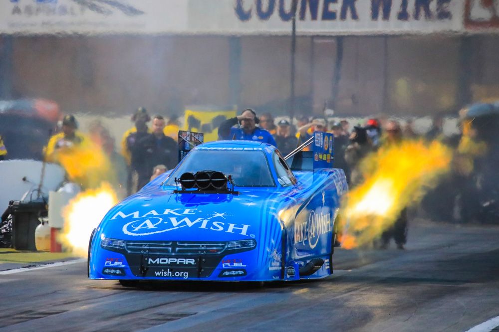 Funny Cars! Here's A Collection of Nitro Funny Car Photos From The 2017 NHRA Circle K Winternationals