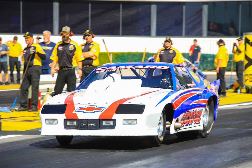 2017 NHRA Circle K Winternationals Action: Top Sportsman and Top Dragster