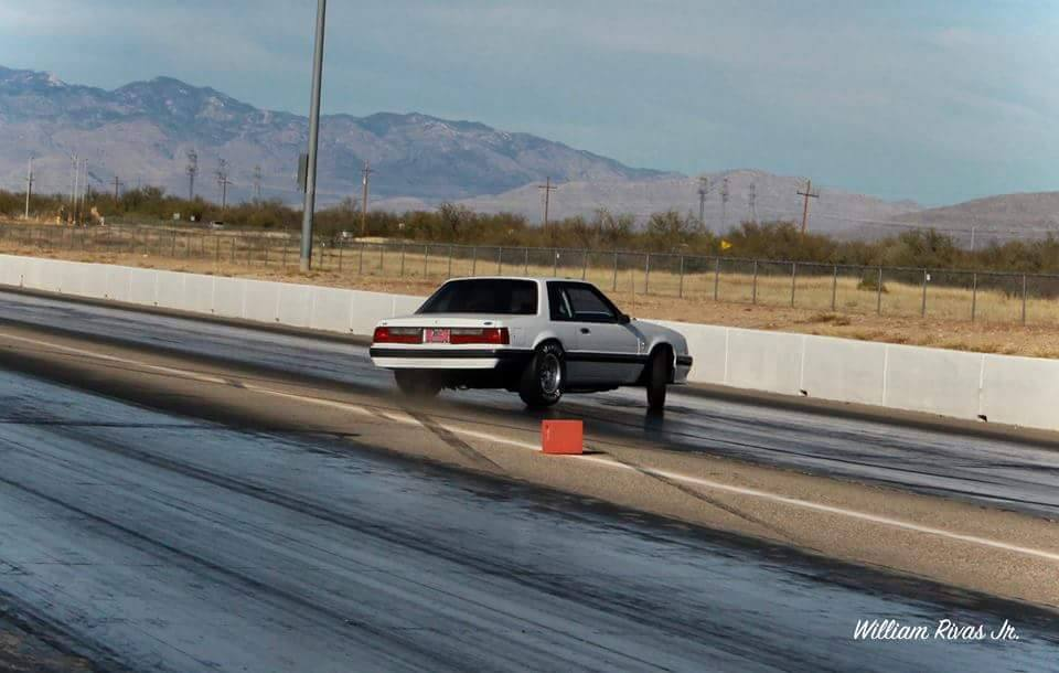 Tucson Dragways Nate Burger Shows The Kids At Import Face-Off How To Do A Burnout In A Mustang!