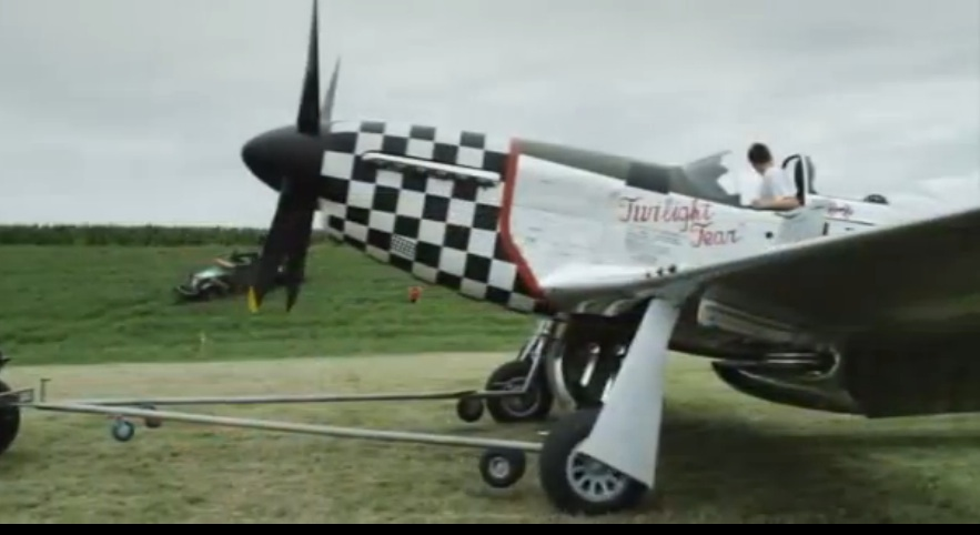 Watch This Fully Restored And Regularly Flown P-51 Mustang Test Out Its .50 Caliber Machine Guns – This Is Awesome