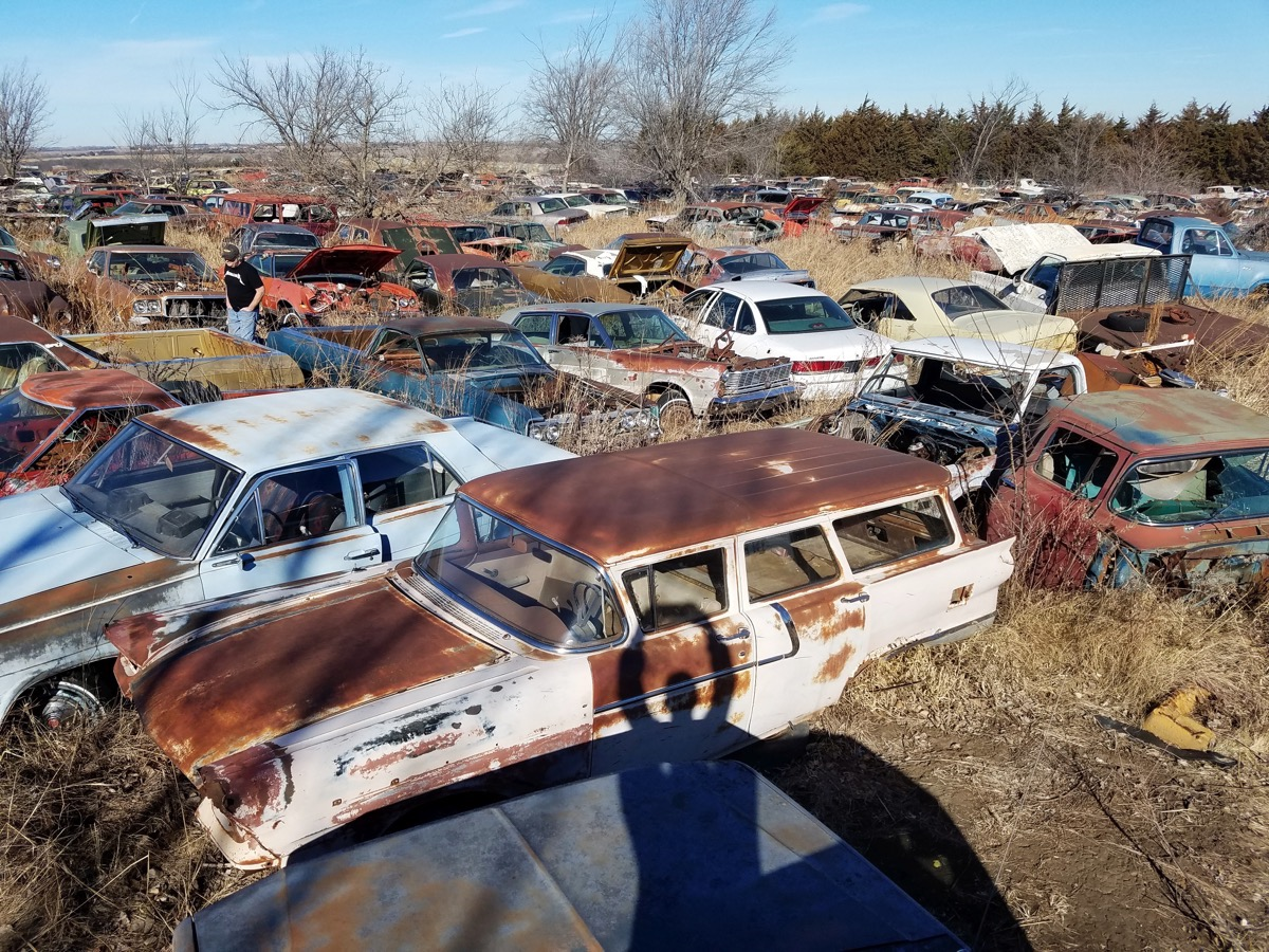 Roadtrippin': Taking a Trip To Junkyard Heaven – Is There Anything More Fun?