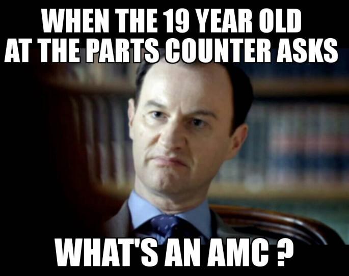 amc parts meme