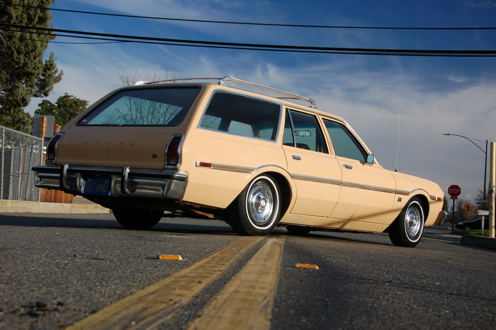Low Life: This Lowered 1977 Dodge Aspen Wagon Has Potential Written All Over It!