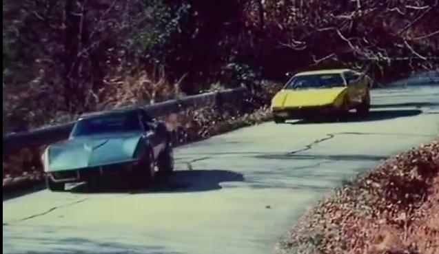 "BangShift Movie Car Chase: Chevrolet Corvette Stingray vs. De Tomaso Pantera in ""Challenge"""