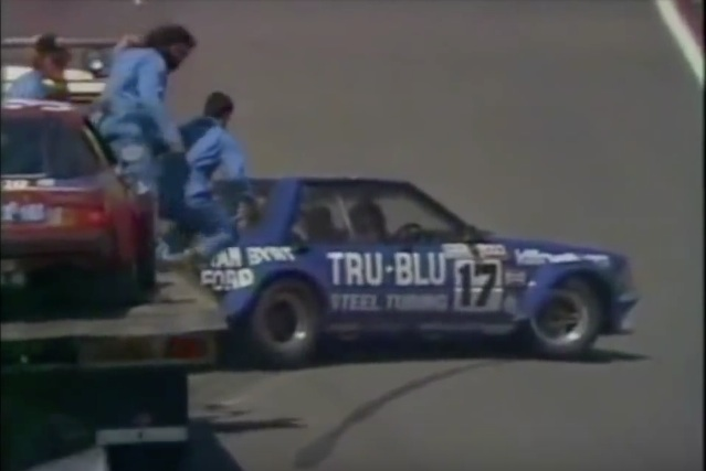 Historical Footage: When Dick Johnson Hit The Rock At Bathurst In 1980