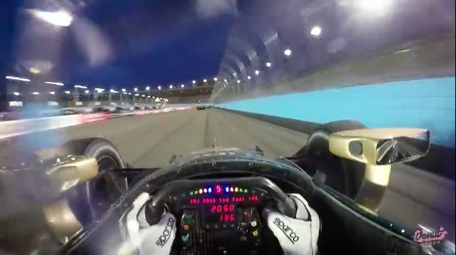 Hot Ride: Go Onboard For A Few Laps Around Phoenix International Raceway Onboard JR Hildebrand's IndyCar!