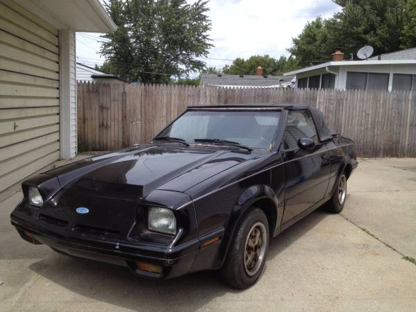 85 ford exp turbo