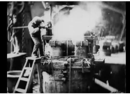 This 1908 Film Shows How A 12-Inch BattleShip Gun Was Manufactured
