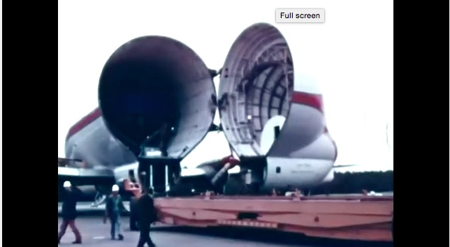 This 1967 Film Shows How The Pieces Of The Saturn V Were Moved To Florida and It Rules